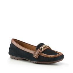 Női cipő, sötétkék, 88-D-702-7-35, Fénykép 1