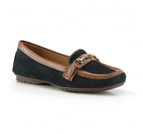 Női cipő, sötétkék, 88-D-702-0-36, Fénykép 1