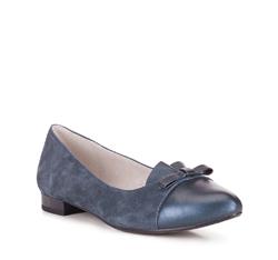 Női cipő, sötétkék, 88-D-961-7-37, Fénykép 1