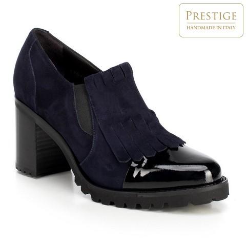 Női cipő, sötétkék, 89-D-104-7-38_5, Fénykép 1