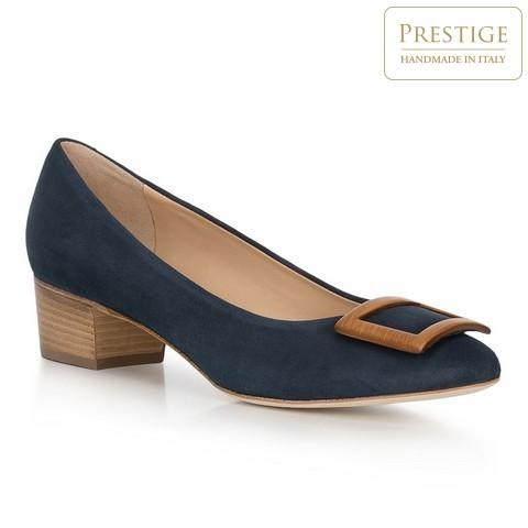 Női cipő, sötétkék, 90-D-105-7-36, Fénykép 1