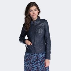 Női dzseki, sötétkék, 88-09-202-7-M, Fénykép 1