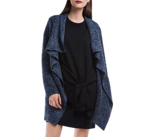 Női kabát, sötétkék, 84-9W-105-7-XL, Fénykép 1