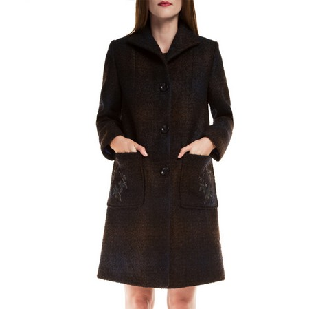 Női kabát, sötétkék, 85-9W-107-7-L, Fénykép 1