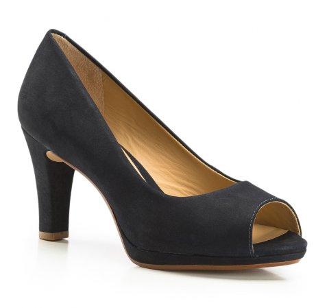 Női cipő, sötétkék, 86-D-706-P-35, Fénykép 1