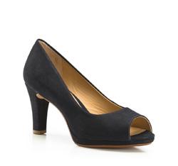 Női cipő, sötétkék, 86-D-706-7-38, Fénykép 1