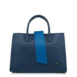 Női táska, sötétkék, 88-4E-209-7, Fénykép 1