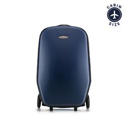 Rolleres bőrönd, sötétkék, 56-3H-500-90, Fénykép 1