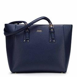 Shopper táska állítható fogantyúval, sötétkék, 92-4Y-610-N, Fénykép 1