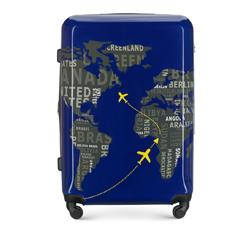 ABS nagy bőrönd polikarbonát, sötétkék-szürke, 56-3A-463-9C, Fénykép 1