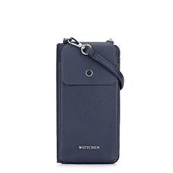 Telefon - és kártyatartó táska, sötétkék, 92-2Y-568-N, Fénykép 1