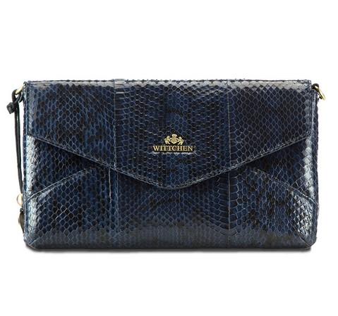 Női táska, sötétkék, 19-4-557-B, Fénykép 1
