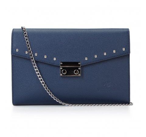 Női táska, sötétkék, 87-4-261-5, Fénykép 1