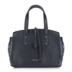 Női táska, sötétkék, 89-4Y-403-7, Fénykép 1