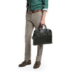 Laptop táska, sötétzöld, 86-3U-208-Z, Fénykép 1