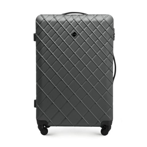 Большой чемодан, сталь - черный, 56-3A-553-31, Фотография 1