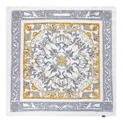 Hedvábný šátek, stříbrně - zlatá, 93-7D-S01-38, Obrázek 1