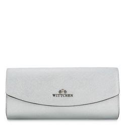 Dámská kabelka, stříbrno-černá, 87-4E-444-S, Obrázek 1