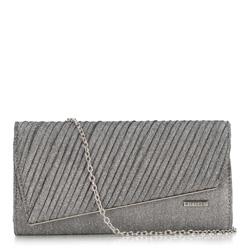 Dámská kabelka, stříbrno-černá, 89-4Y-305-S, Obrázek 1
