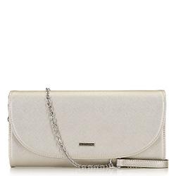 Dámská kabelka, stříbrno-černá, 91-4Y-604-S, Obrázek 1