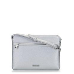 Dámská kabelka, stříbrno-černá, 92-4Y-230-S, Obrázek 1