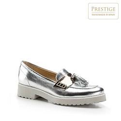 Dámská obuv, stříbrno-černá, 86-D-101-G-36, Obrázek 1