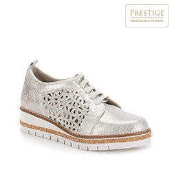 Dámská obuv, stříbrno-černá, 88-D-456-S-37, Obrázek 1