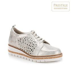 Dámská obuv, stříbrno-černá, 88-D-456-S-38, Obrázek 1