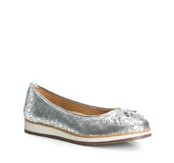Dámské boty, stříbrno-černá, 84-D-709-S-38, Obrázek 1