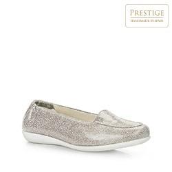 Dámské boty, stříbrno-černá, 86-D-305-S-38, Obrázek 1