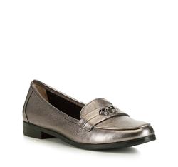 Dámské boty, stříbrno-černá, 88-D-958-8-37, Obrázek 1