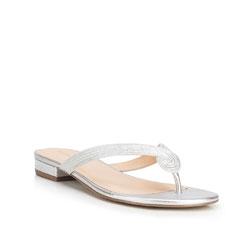 Dámské boty, stříbrno-černá, 88-D-755-S-35, Obrázek 1