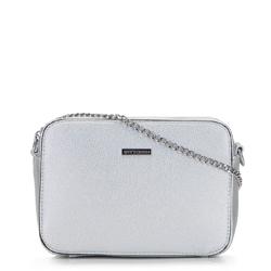 Dámská kabelka, stříbrno-černá, 92-4Y-226-S, Obrázek 1