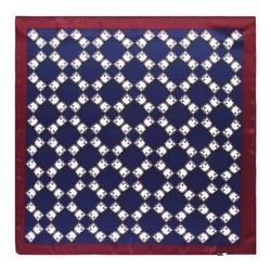 Hedvábný šátek, švestka, 93-7D-S01-2, Obrázek 1