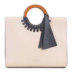 Dámská kabelka, světle béžová, 89-4Y-604-9, Obrázek 1