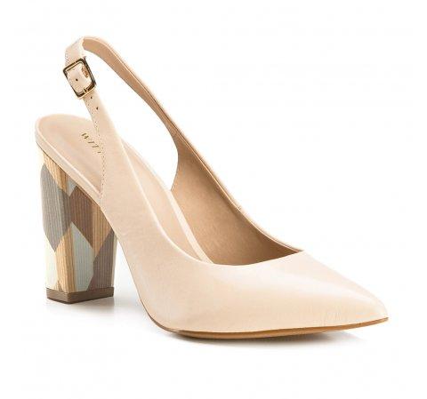Dámská obuv, světle béžová, 86-D-552-9-35, Obrázek 1