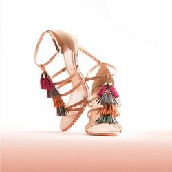 Dámská obuv, světle béžová, 86-D-750-9-41, Obrázek 1