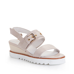Dámská obuv, světle béžová, 86-D-906-9-37, Obrázek 1