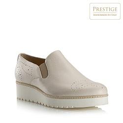 Dámské boty, světle béžová, 80-D-118-0-39_5, Obrázek 1