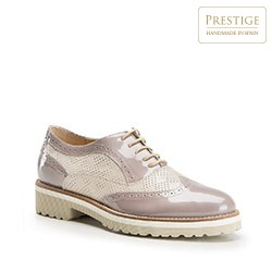 Dámské boty, světle béžová, 86-D-100-9-37, Obrázek 1