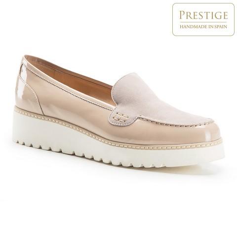 Dámské boty, světle béžová, 86-D-103-9-35, Obrázek 1