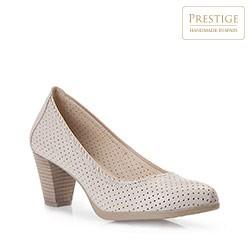 Dámské boty, světle béžová, 86-D-302-0-36, Obrázek 1