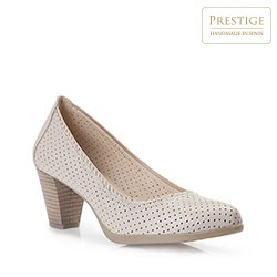 Dámské boty, světle béžová, 86-D-302-0-37, Obrázek 1