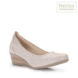 Dámské boty, světle béžová, 86-D-307-9-38, Obrázek 1