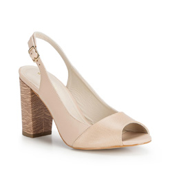 Dámské boty, světle béžová, 86-D-555-9-36, Obrázek 1