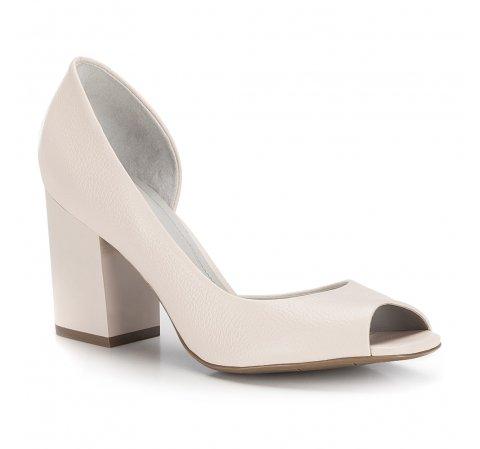 Dámské boty, světle béžová, 86-D-558-9-35, Obrázek 1