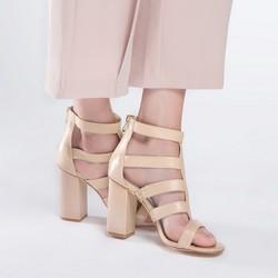 Dámské boty, světle béžová, 86-D-902-9-39, Obrázek 1