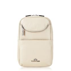 Dámský batoh, světle béžová, 88-4E-362-9, Obrázek 1