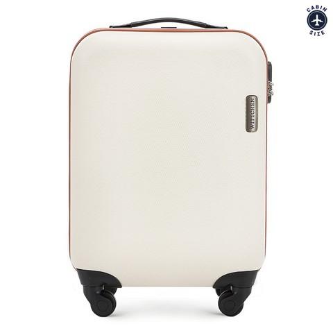 Kabinový cestovní kufr, světle béžová, 56-3-610-30, Obrázek 1