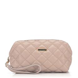 Kosmetická taška, světle béžová, 87-3-551-9, Obrázek 1